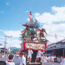 ■敦賀祭り■敦賀市の一大イベント。秋の訪れを告げるダイナミックな祭り。