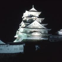 【姫路城】ライトアップ
