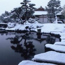 【好古園】好古園の冬景色