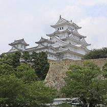 【姫路城】三国堀から