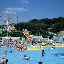 手柄山遊園(プール)