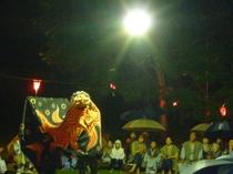 福地温泉・夏の夜祭り