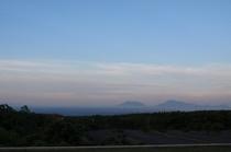 久住高原の夜明け