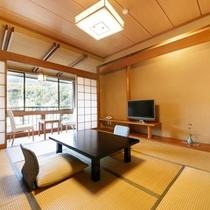 【D】トイレ付標準和室(内風呂なし)  客室一例