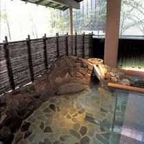 露天風呂つばきの湯