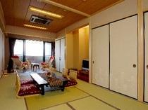 海一望のバルコニー&約5畳のゆったり広縁付き和室16畳「星」