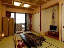 海一望の露天風呂付き和室12畳「渚砂」