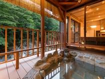離れ特別室 【武蔵】 露天風呂