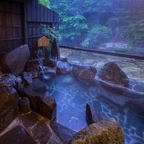 和風貸切露天風呂。。。『小舟の湯』。。。