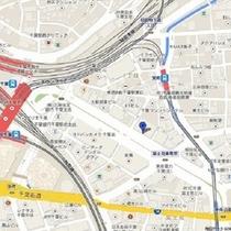 ②【千葉駅 東口】 NTT前 7:50発 ⇒ 【湯西川温泉】 13:00頃着