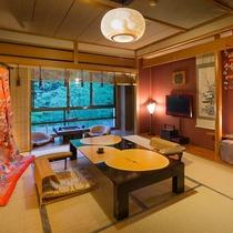 昔懐かしい・・・囲炉里造りの客室。。。ゆるやかに流れる~時感(じかん)を。。。【新本館客室一例】