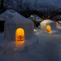 """湯西川温泉は辺り一面銀世界。。。""""大切な人と大切な時""""を・・・お過ごしください。。。"""