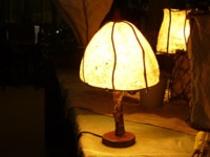 手造りランプ2