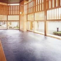 ■大浴場内湯 湯量豊富な温泉