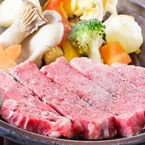別注料理:とちぎ和牛ステーキ