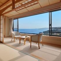 *【客室一例】海一望の和室