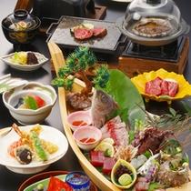 熱海スペシャルプランお料理一例