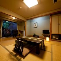 【母屋】1階露天風呂客室