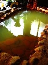 赤城温泉のにごり湯