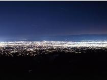 パノラマ展望台からの夜景