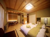本館露天風呂付客室 一例