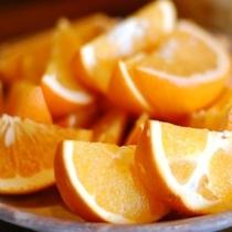 【朝食】季節のフルーツもどうぞ