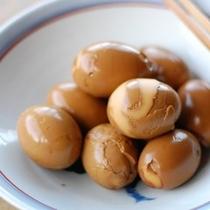 【朝食】煮ない煮卵/お惣菜バイキング例