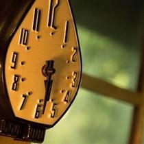 【図書室の時計】