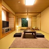 【和室】広々とした和室でゆっくりとお過ごし下さい/例