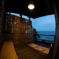 海と対峙し、己と対峙する『瞑想室』