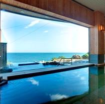 内風呂からの風景