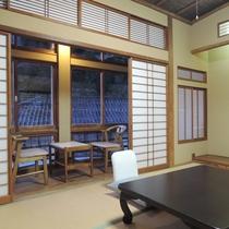 【部屋一例】和室6畳(竹)/純和風のゆっくり寛げるお部屋です。
