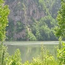 夏のくったり湖
