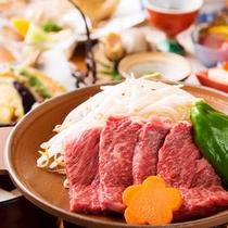 富山牛を食す