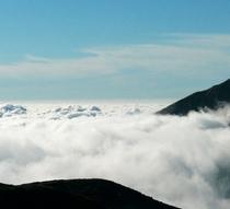 立山の雲海