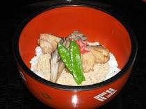 当館オリジナル 寒鱈の親子丼