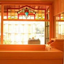自慢の高野槇風呂