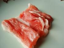 ブタしゃぶしゃぶ(ミニ鍋)