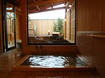貸切風呂ひょうたん内風呂