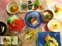 2013年7月雅びの舞お料理一例