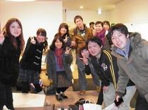2011.02.12大阪より団体様!