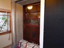 別館「蔵」玄関