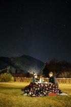 屋外コタツで星空観察(2)