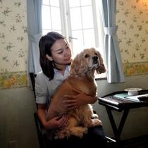 もちろん愛犬と一緒に♪