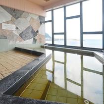 *【大浴場】玄界灘を一望出来る当館自慢の展望風呂。