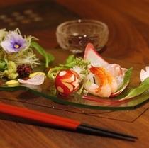 ■お料理(前菜)