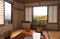 部屋からの景色 秋