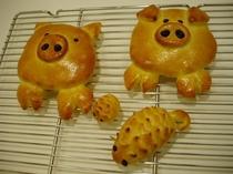 パン作り体験〜作品1
