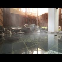 露天風呂も24時間入浴OK^^