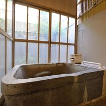 ■半露天付ダブル■室内もお風呂もバリアフリーです。